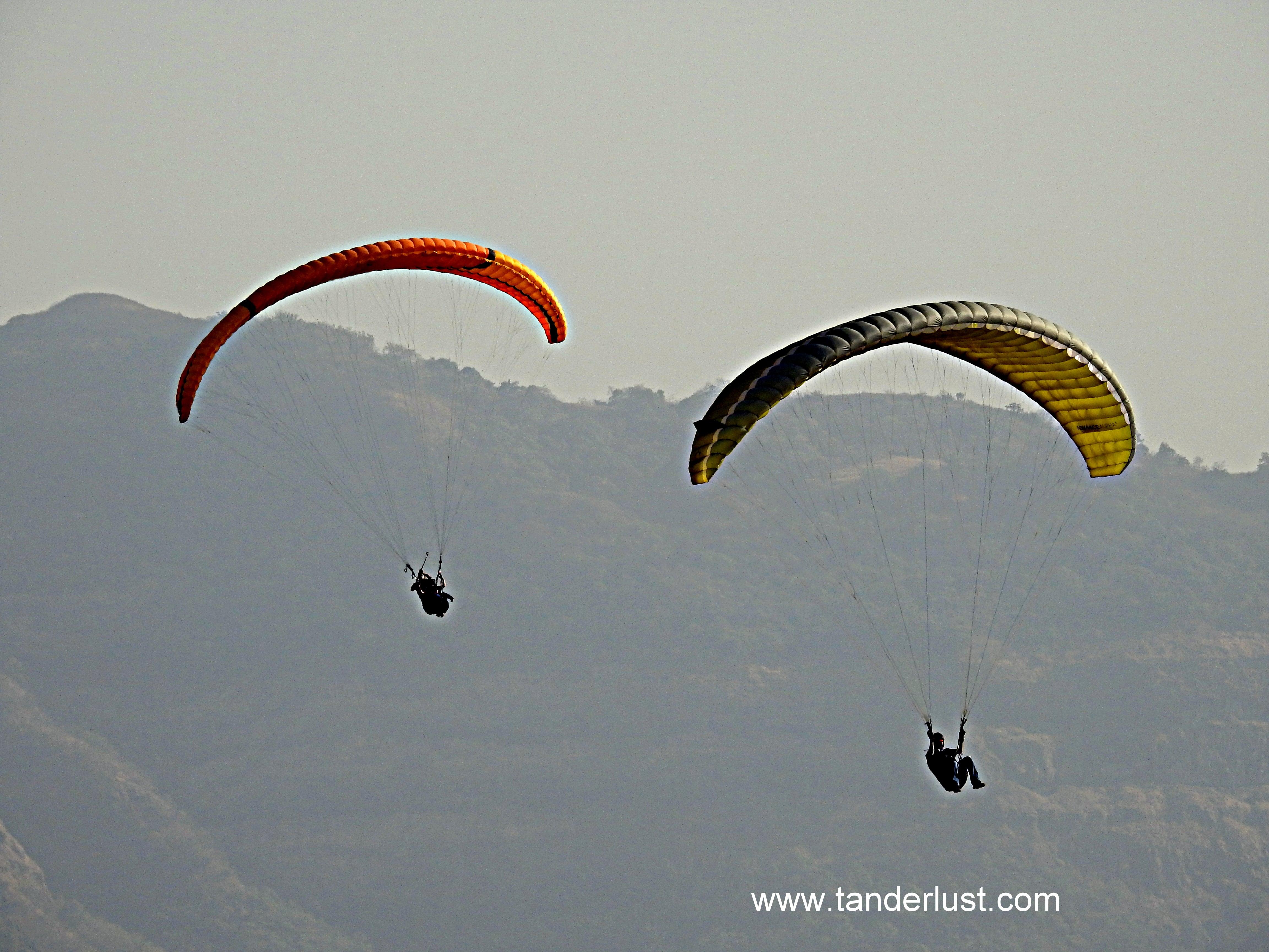 paragliding pawna lake lonavala