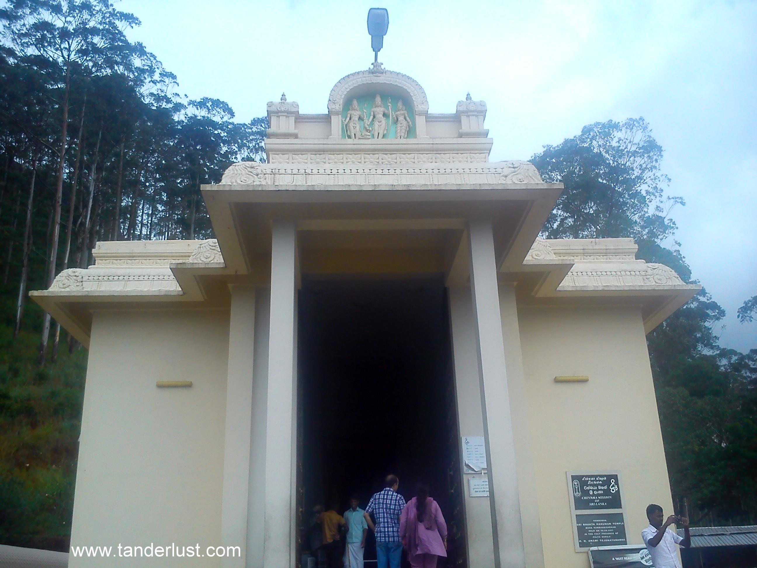 hanuman temple Nuwara Eliya