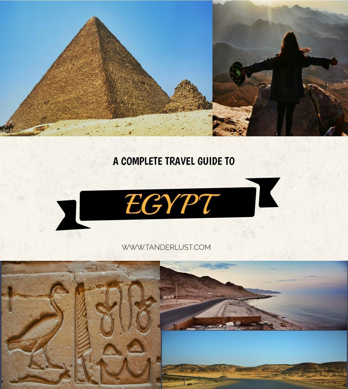 The complete travel guide to Egypt