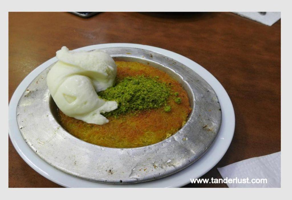 Kunefe, Turkish food, Turkey
