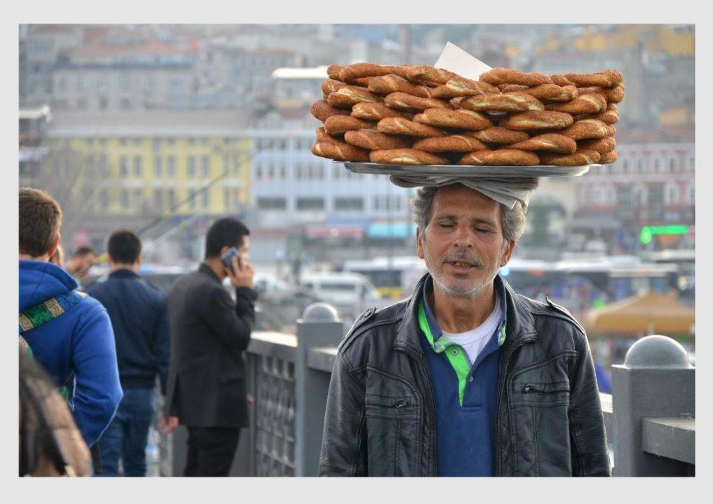 Simit, Turkish food, Turkey