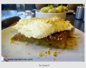 Ekmek Kadayifi, Turkish food, Turkey