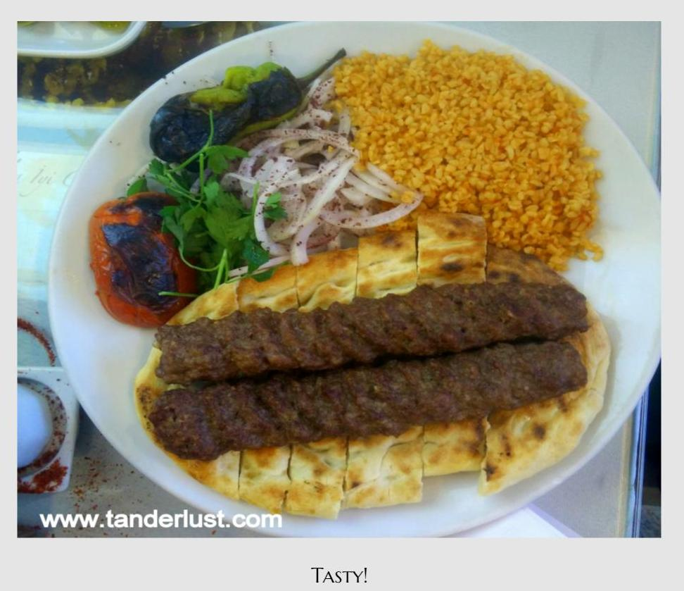 Turkish food, Turkey, Kebap