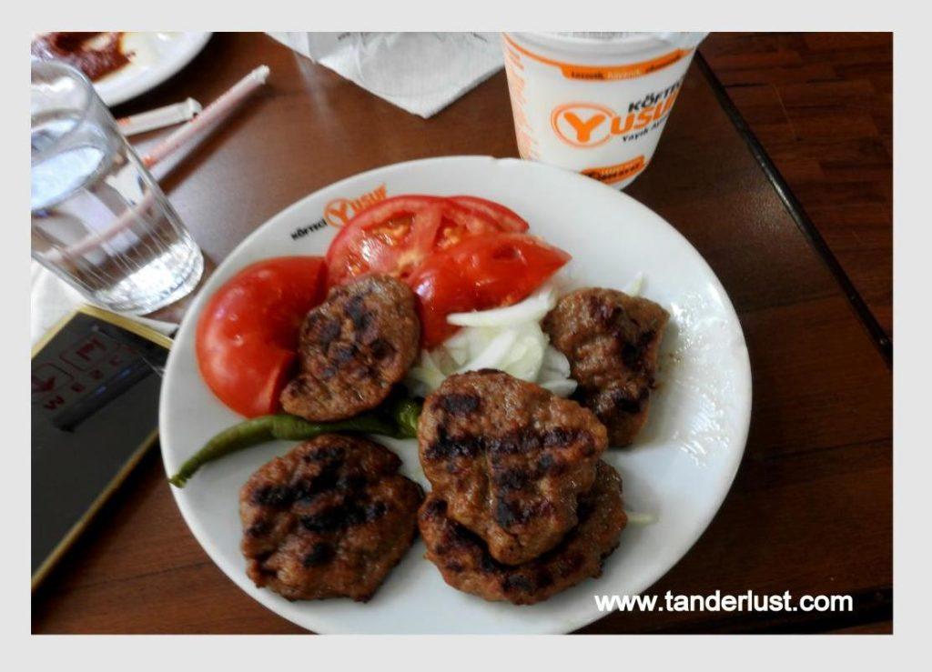 Kofta, Turkish food, Turkey