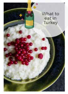 Turkish food, what to eat in Turkey
