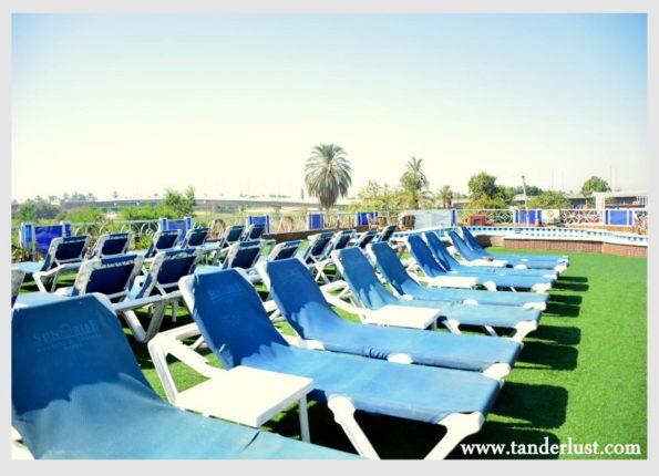 Nile cruise upper deck