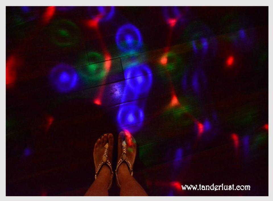 Nile cruise dance floor