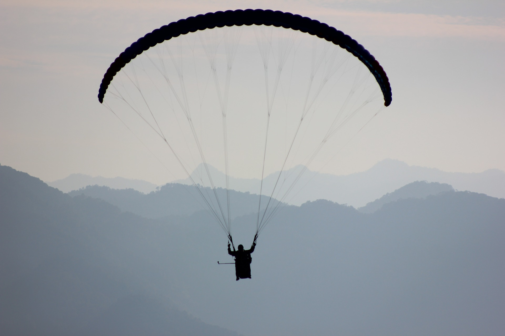 Paragliding at Pawna Lake