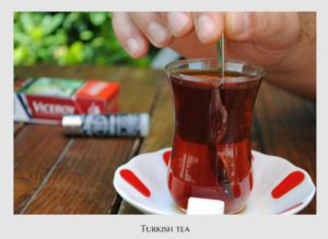 Turkish tea, Turkish food, Turkey