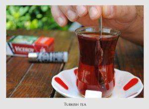 Turkish tea, Turkish food, Turkey