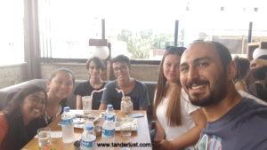 meeting new people, Tanderlust
