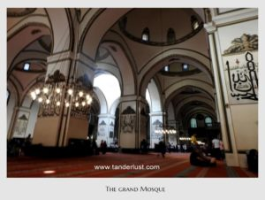Tanderlust, Grand mosque, Bursa, Turkey