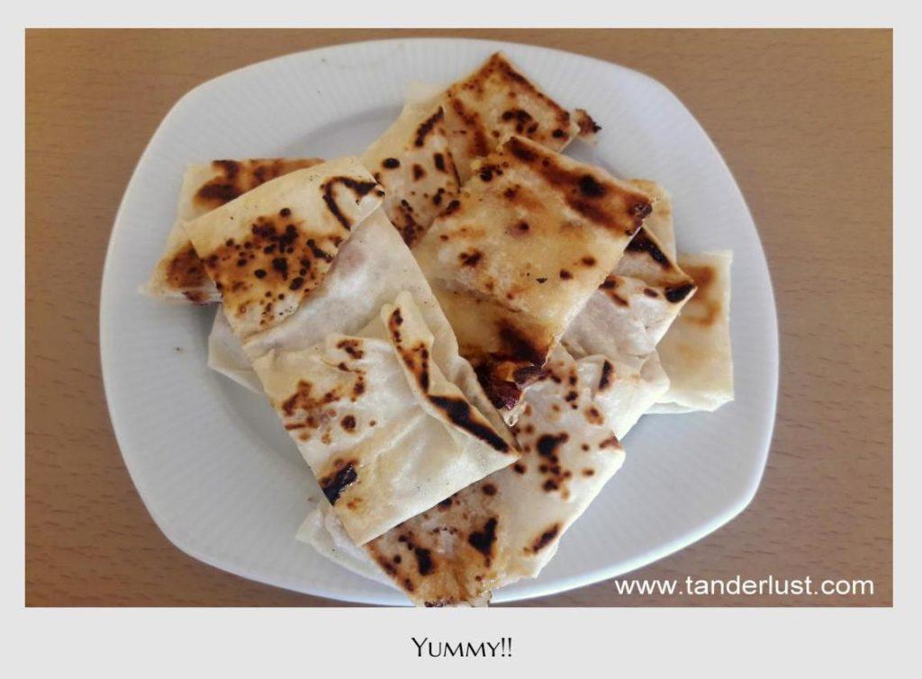 Tanderlust, food, Turkey