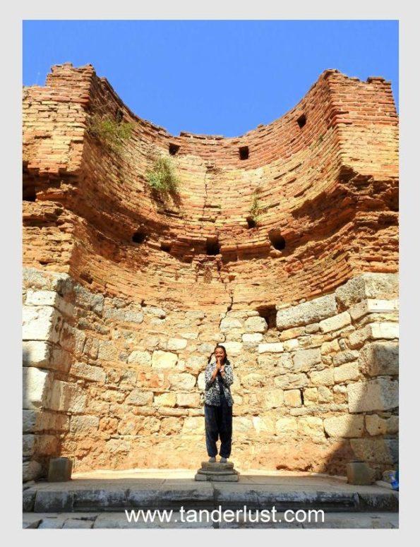 Just posing in Ephesus