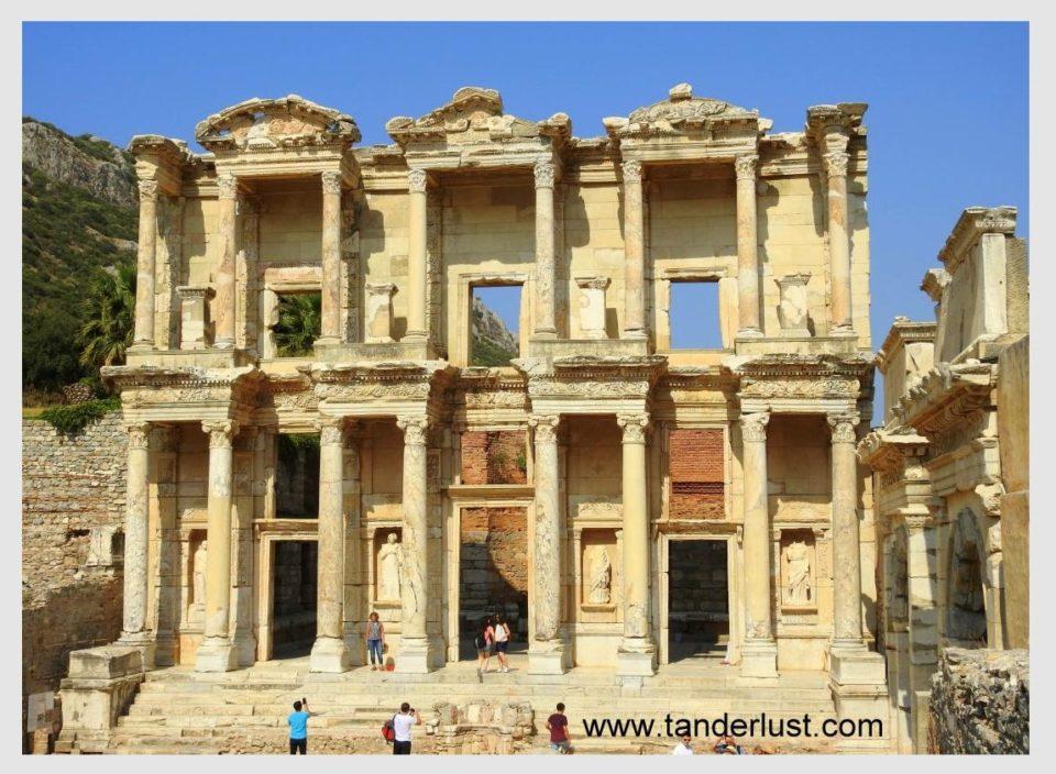 The library of Ephesus