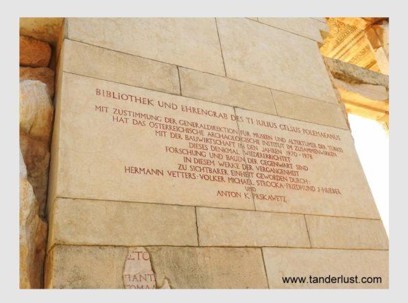 German writings on the wall