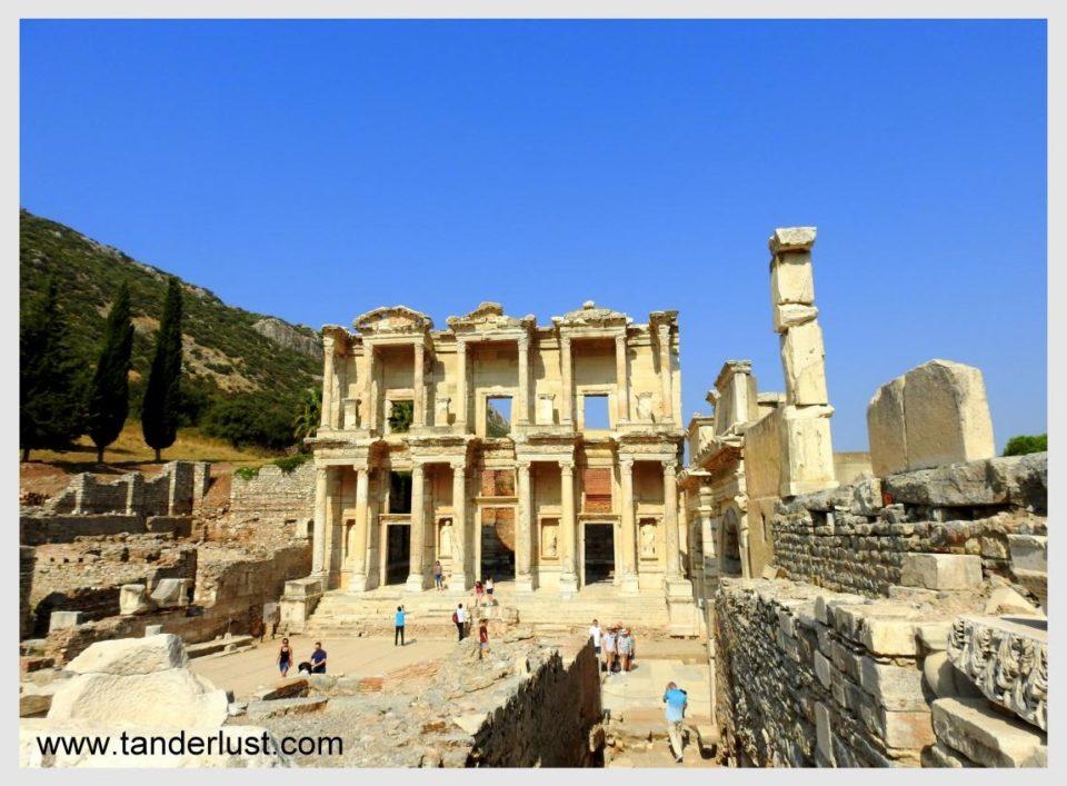 Ephesus library