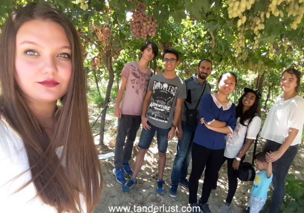 With Turkish people in Caberkamara manisa Turkey