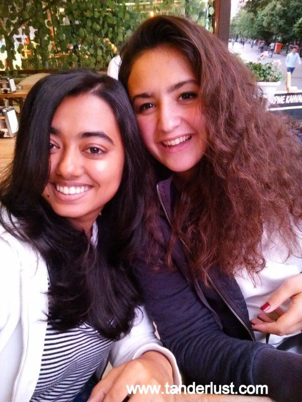 With my friend in Eskisehir