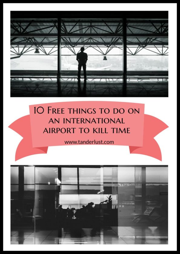 free things to do on international airport