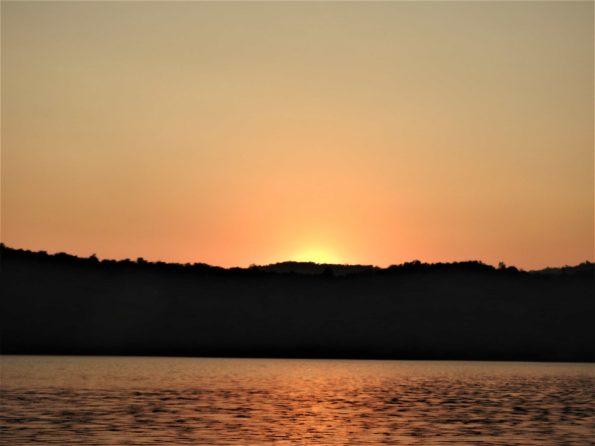 sunset from mandangad dam