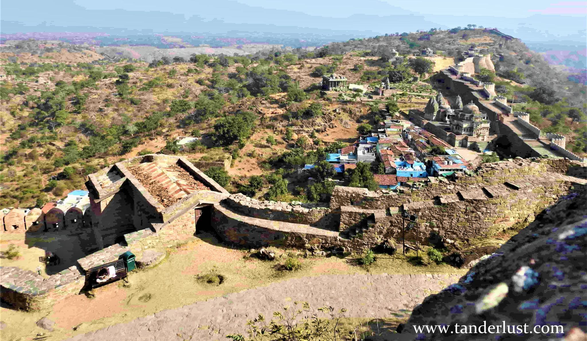 Kumbhalgarh fort: A day trip to the great wall of India!