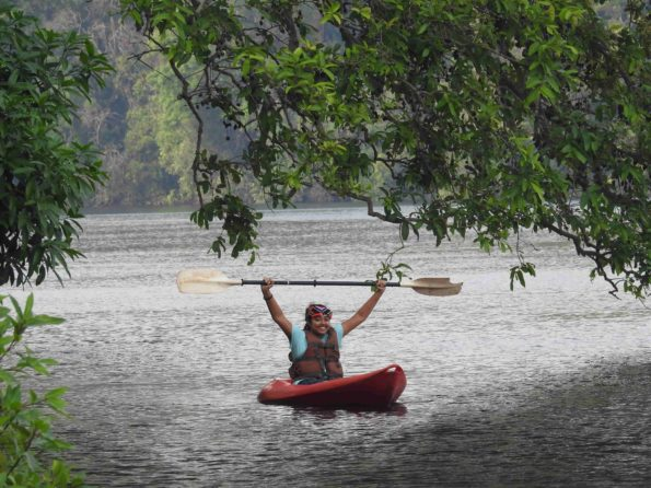 kayaking in dandeli
