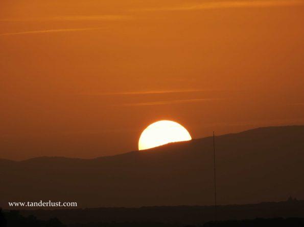 Madrid sunsets