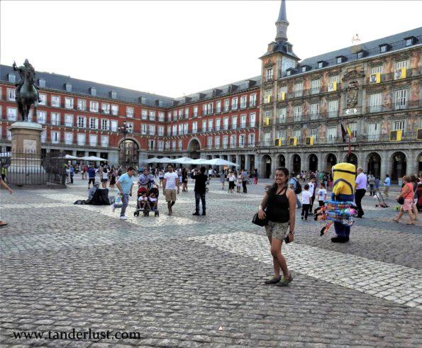 Plaza mayor mad