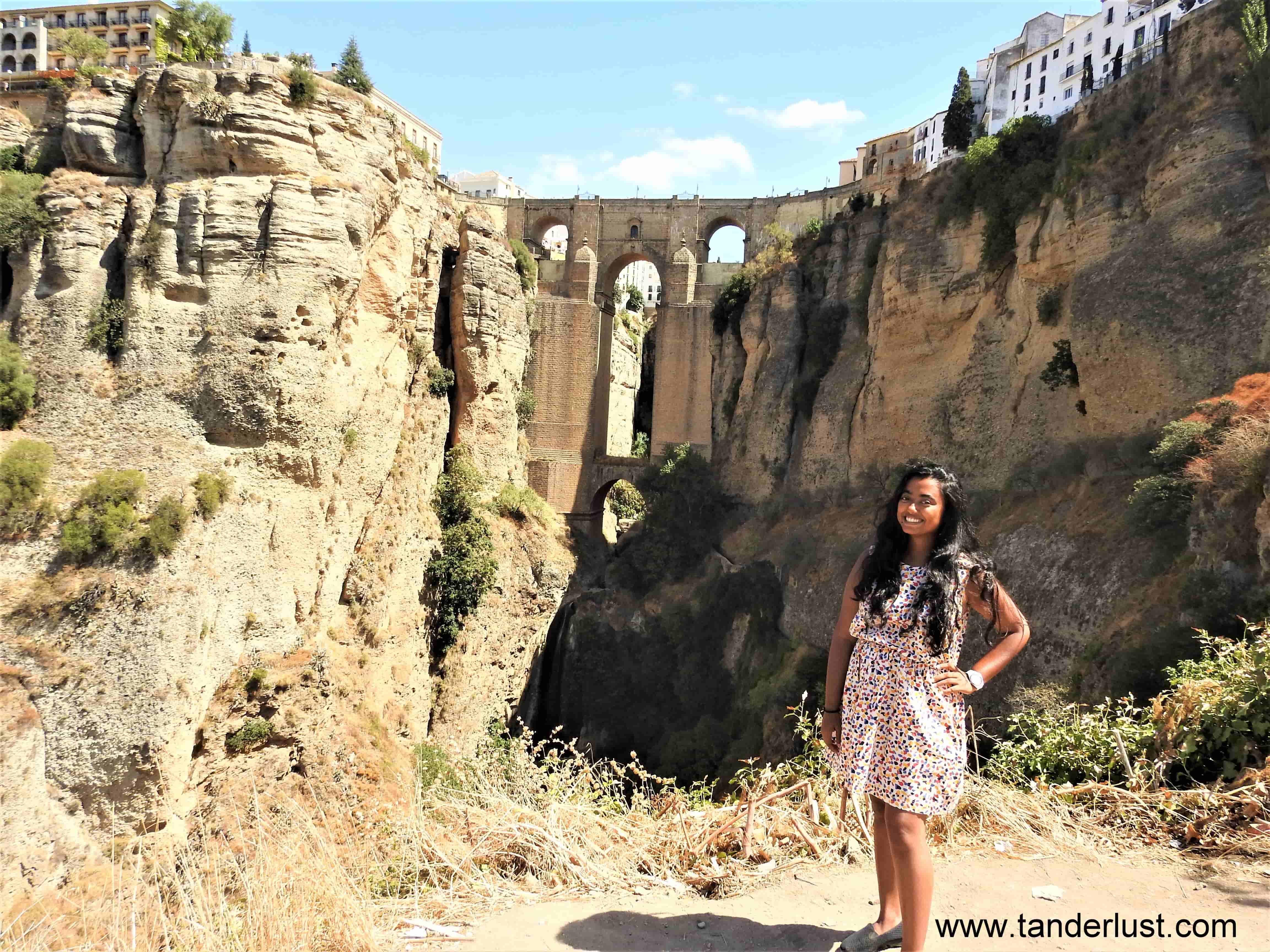 Puente Nuevo – The bridge for which I headed to Ronda!