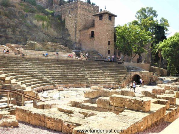 roman theater malaga spain