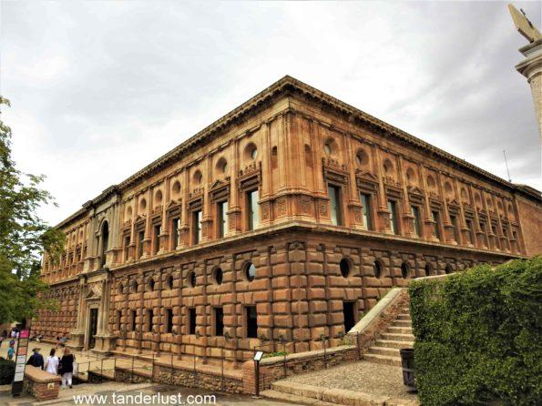 Charles V Palace Alhambra Granada Spain