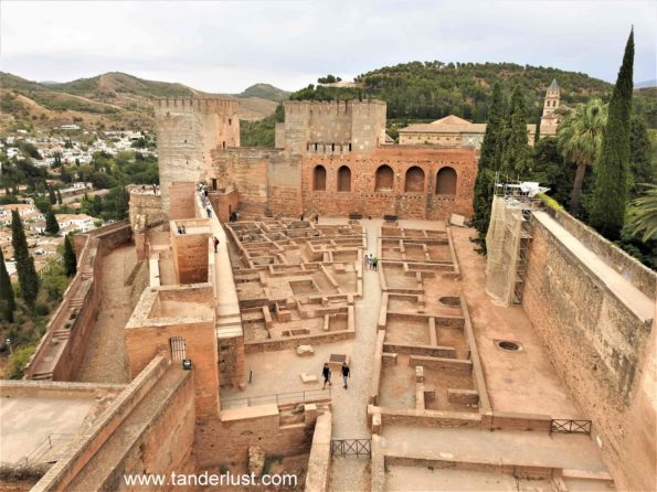 Alcazaba Alhambra Granada Spain
