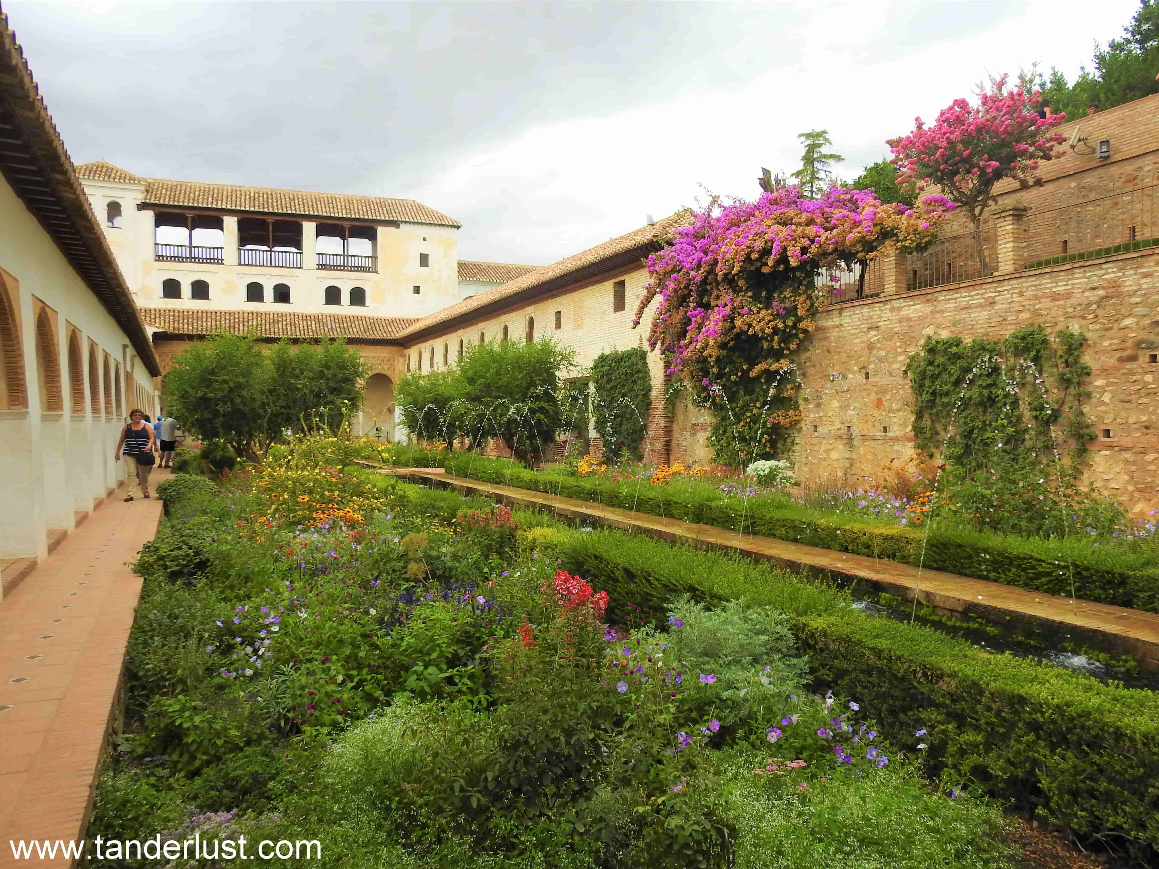 Generalife Alhambra Granada Spain
