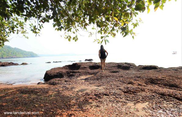 stone water beach