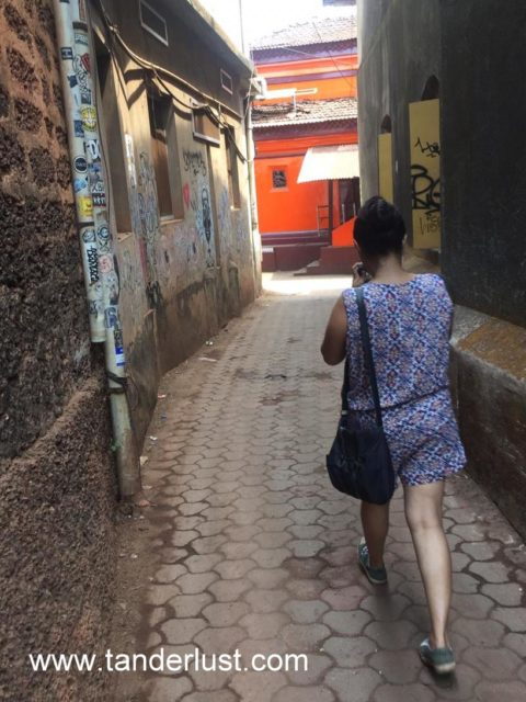 Streets of Gokarna