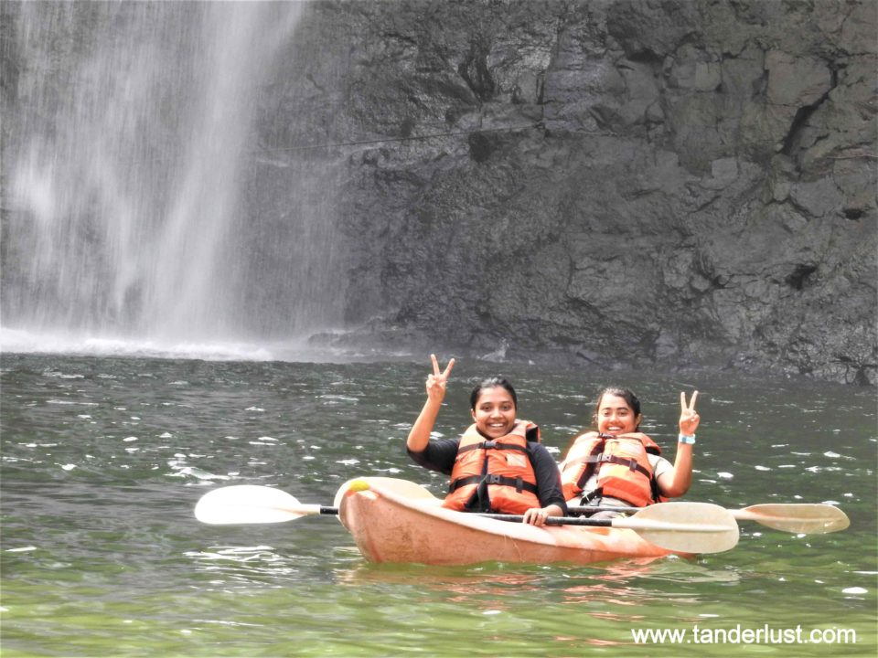 Kayaking at the Dabhosa Waterfall Resort