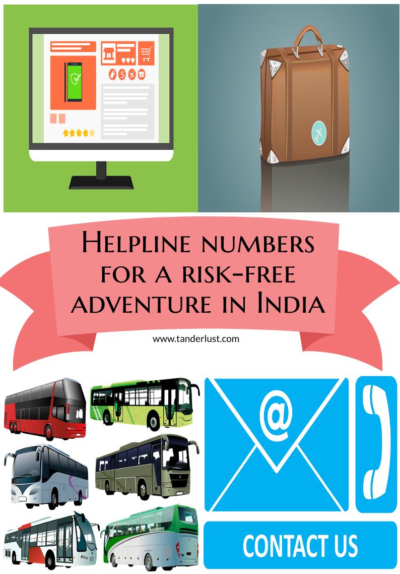 helpline numbers in india