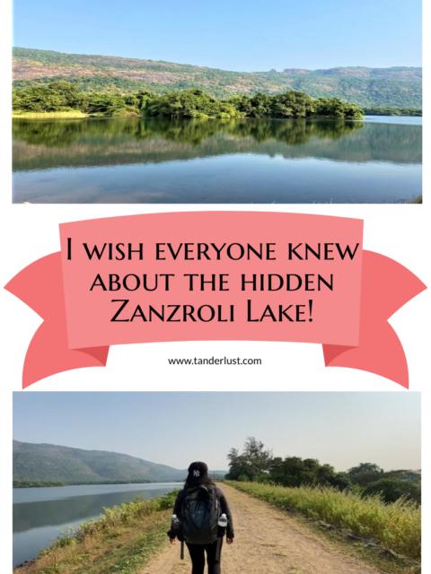 Zanzroli lake palghar