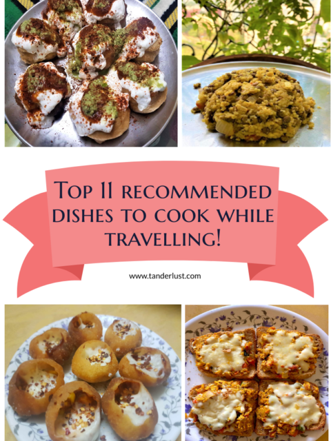 dishes to cook while travelling